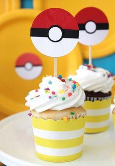 Geniales ideas para cumpleaños de Pokémon   Tarjetas Imprimibles