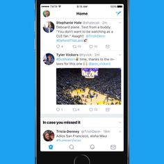 Check out the new Twitter  look!