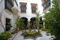 Sepharad - Cordoba Courtyard in Juderia - Jewish Quarter, Cordoba, Spain