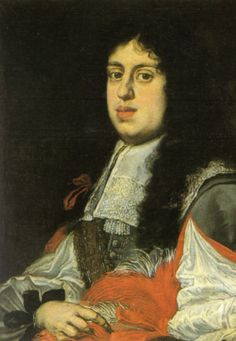 The last Medici Grand Duke to produce children, Cosimo III de' Medici (1642-1723) - father of Gian Gastone and Anna Maria Luisa. Artist, Justus Sustermans