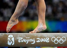 olympic gymnastics, balance beam Beijing 2008 #KyFun gynnast m.0.2 from Gymnastics: Olympics board