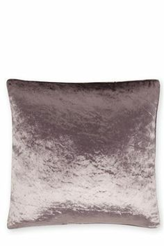 Plush Velvet Cushion avaliable in Mauve & Mink - from Next