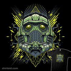 Space Lord | Shirtoid#comic #comics #film #guardiansofthegalaxy #marvelcomics #movie #starlord #studiom6