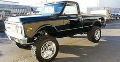 jacked up chevy trucks pictures Jacked Up Chevy, 67 72 Chevy Truck, Lifted Chevy Trucks, Classic Chevy Trucks, Chevy C10, Chevy Pickups, Chevrolet 4x4, Chevy Nova, Pickup Trucks