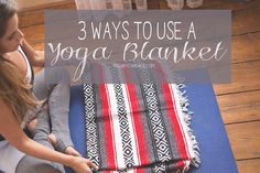 Pin now, practice later! Wearing: Fabletics leggings (similar awesome legging), Sweaty Betty leg warmers. Using: yoga blanket, mat.