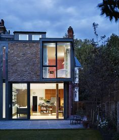 The proposal relates to the construction of a new contemporary two-storey brick extension to an historic Edwardian house. The design of the proposed extension has been defined by the site conditions and constraints. The most unique characteristic of 1 Milman Road is the corner bay window. Most houses at the end of terrace terminate in a blank brick side elevation, most notably the building at the rear of the garden,...
