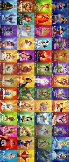Disney  movies memories