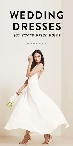1dc92606ca A Wedding Dress at Every Price Point (Really