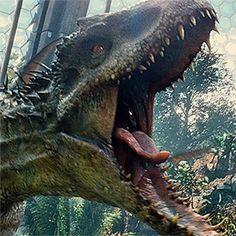 Jurassic World- I-Rex Closeup
