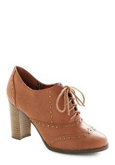 Riveted Attention Heel | Mod Retro Vintage Heels | ModCloth.com - StyleSays