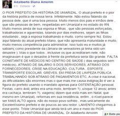"""RN POLITICA EM DIA: UMARIZAL: ADALBERTO AMORIM """"NOMEIA"""" MANO COMO O PI..."""