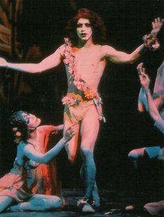Oscar Wilde's Salomé staged by Lindsay Kemp in 1975