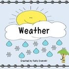 Come rain or shine, this unit has lots of great stuff  to teach about weather in the primary classroom! It includes:**Weather Center -  The wea...
