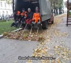Russians Have Achieved A New Level Of Laziness