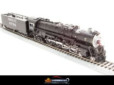 Broadway Limited #2515 Paragon2 #2515 4-8-4 Northern ATSF #3764 Sound/DC/DCC  ndustry-Leading Features:             Product Information:      ALL-NEW Paragon2 Sound & Control System     Synchronized PUFFING SMOKE with Chuff Sound     Variable Puffing Smoke Intensity and timing     Integral DCC Decoder with Back EMF for Industry Best Slow Speed Operation in DC and DCC     Precision Drive Mechanism engineered for continuous he