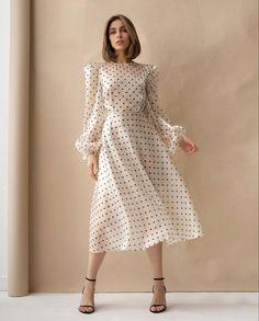 Elegant Dresses, Pretty Dresses, Beautiful Dresses, Casual Dresses, Classy Dress, Classy Outfits, Stylish Outfits, Vestidos Vintage, Vintage Dresses