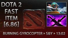 Dota 2 Fast Item - BurNIng Gyrocopter » S&Y » 13:02 [6.86]
