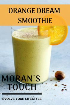 The combination of ingredients in this smoothie gives us a great immune-boosting effect. So be ready for the winter with this amazing smoothie! Protein Smoothie Recipes, Healthy Smoothies, Superfood Smoothies, Recipe Boards, Folic Acid, Weight Loss Smoothies, Diabetic Recipes, Breakfast Recipes, Orange