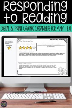 This set of reading graphic organizers includes over eighty ELA graphic organizers for use with texts of the teacher's choice! Now included both as printables and as digital activities in Google Slides! These graphic organizers cover key reading comprehension skills taught in 2nd grade and 3rd grade classrooms. Use them during distance learning of in person.