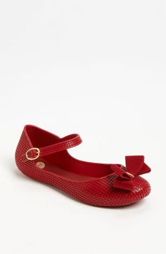 Mel by Melissa 'Blueberry' Flat | Nordstrom- I WANT IN RED!!