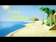 DIVIDING A FRACTION BY A WHOLE NUMBER: Song and Music Video ★ Unique Math Center Activity ★ 3rd Grade, 4th Grade, 5th Grade
