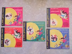 lot of 5 childrens LITTLE GOLDEN RECORDS with by OurVintageHouse, $28.00