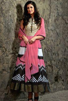 #Multicolor #Readymade #Anarkali Suit