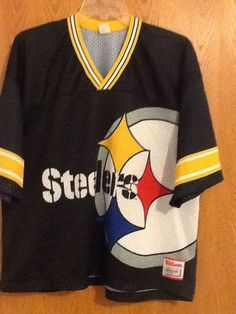 dae10dcaa VINTAGE WILSON ATHLETIC NFL PITTSBURGH STEELERS JERSEY SIZE XL   15.99 End  Date  Thursday Feb-14-2019 22 12 59 PST Buy It Now for only …