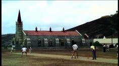 Cricket game on Ascension Island Ascension Island, Cricket Games, Falklands War, Devon Uk, St Helena, Pitch, Islands, Britain, Empire