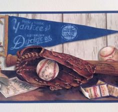Blue Mountain Wallcoverings 5815120 Cooperstown Nostalgic Baseball Prepasted Wall Border Blue Mountain Wallcoverings http://www.amazon.com/dp/B0018QR0BW/ref=cm_sw_r_pi_dp_mDrXwb1K001XH