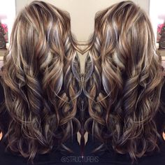 Long Wavy Ash-Brown Balayage - 20 Light Brown Hair Color Ideas for Your New Look - The Trending Hairstyle Curled Hairstyles, Pretty Hairstyles, Shampoo For Gray Hair, Latest Hair Color, Hair Color And Cut, Hair Colour, Hair Color Highlights, Caramel Hair Highlights, Brown Hair With Highlights And Lowlights