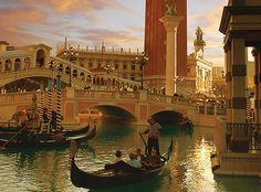 The Venetian, Las Vegas, NV - LOVE the gondola rides! So fun! I realy want to stay here someday :)