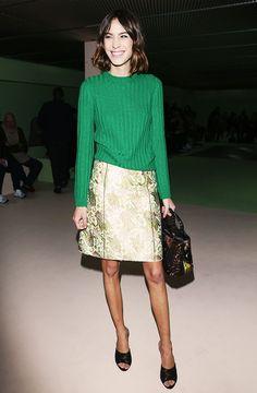 Alexa Chung, Chiara Ferragni & More: What They Wore to Fashion Week via @WhoWhatWear