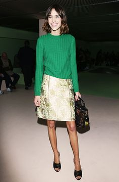 Alexa Chung, Chiara Ferragni & More: What They Wore to Fashion Week via @WhoWhatWear