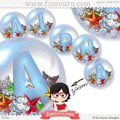 Alpha Bubbles by Fa Maura