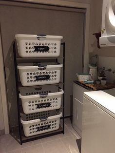 home decor kmart Bathroom Decor kmart - Modern Laundry Decor, Laundry Room Design, Laundry In Bathroom, Laundry Rooms, Small Laundry, Laundry Basket, Diy Kitchen Storage, Laundry Room Organization, Diy Storage