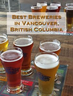 Best Breweries in Vancouver British Columbia, Canada