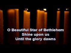 Beautiful Star of Bethlehem - The Judds (with lyrics).  The sweetest Christmas song ever sung.