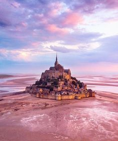 Mont-Saint-Michel is one of the most unique points of interest in France, and a simply magical place to watch the rising tide 🌊 Drone Photography, Travel Photography, Photography Ideas, Wonderful Places, Beautiful Places, Le Mont St Michel, Sites Touristiques, Les Continents, Triomphe