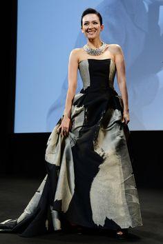 20d5edbacda Cannes 2013 - Zhang Ziyi in Carolina Herrera Zhang Ziyi