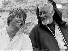 Mark and Sir Alec