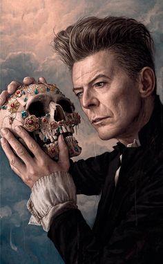 David Bowie, by Rory Kurtz