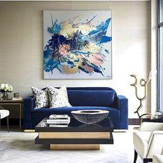 60 most elegant wall art ideas for living room makeover - Living Room Themes Living Room Themes, Living Room Art, Ciel Art, Art Pour Salon, Sky Art, Abstract Wall Art, My New Room, Decor Interior Design, Decoration