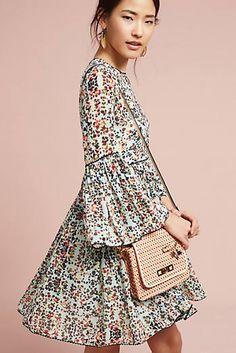 Libra Embroidered Tunic Dress