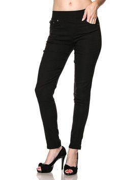 Black skinny pants plus (runs small)