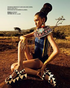 HARPER'S BAZAAR CHINA NOVEMBER 2013: EXOTIC ESCAPE