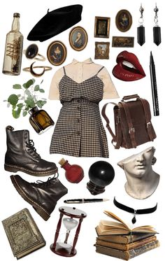 Aesthetic Fashion, Aesthetic Clothes, Aesthetic Outfit, Retro Outfits, Vintage Outfits, Estilo Dark, Mode Kawaii, Estilo Hippy, Simple Dresses
