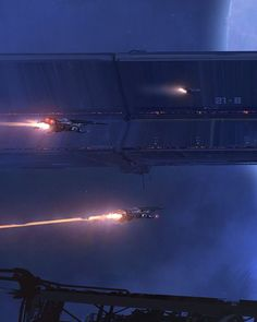 Cinemagorgeous:Sci-fi concept Art by Georg Hilmarsson.