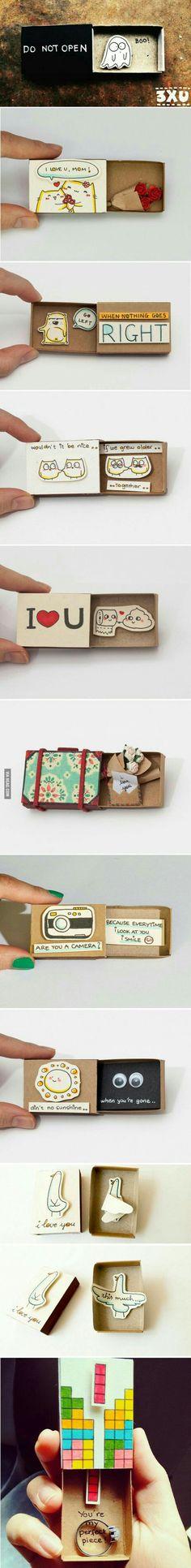 Идеи для спичечного коробка