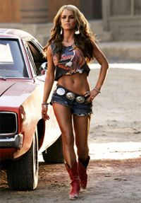 Jessica Simpson's Daisy Duke workout BEEN LOOKING FOR THIS FOREVER and this is what I'm doing until I look like that ^